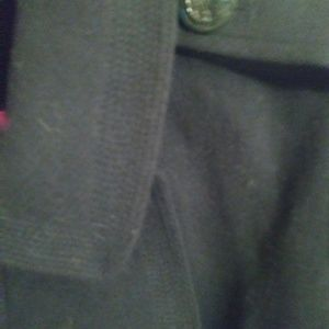 jcpenney Jackets & Coats - Navy Blue JCP XL Womwns Wool Blend Pea coat